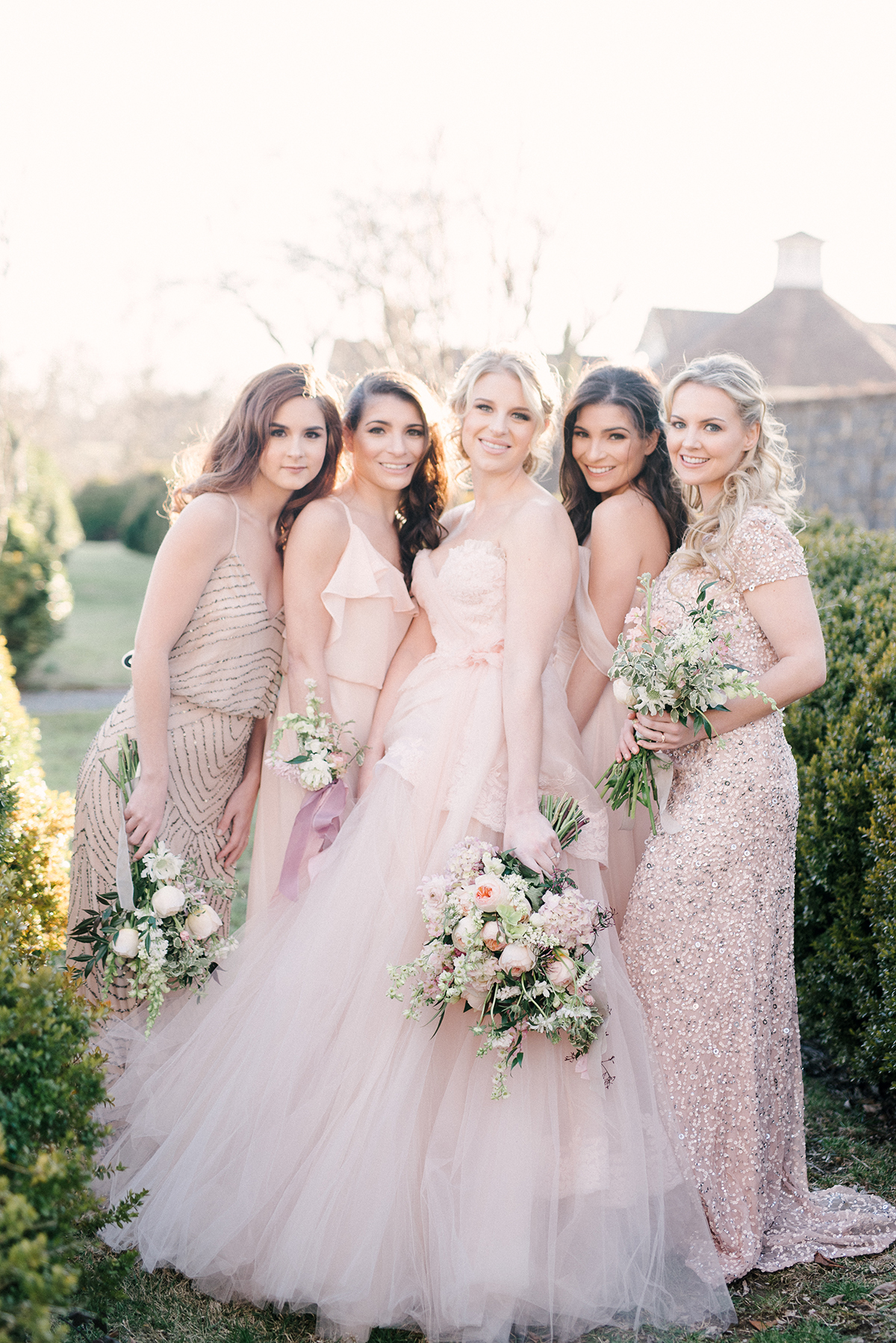 Bridal Party in Pink
