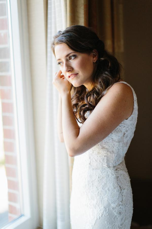 Bride in Pronovias Atelier