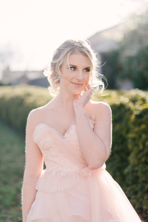 Bride with Sideswept Updo