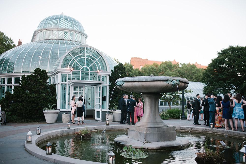 brooklyn botanic garden wedding lara kimmerer 10 - Brooklyn Botanic Garden