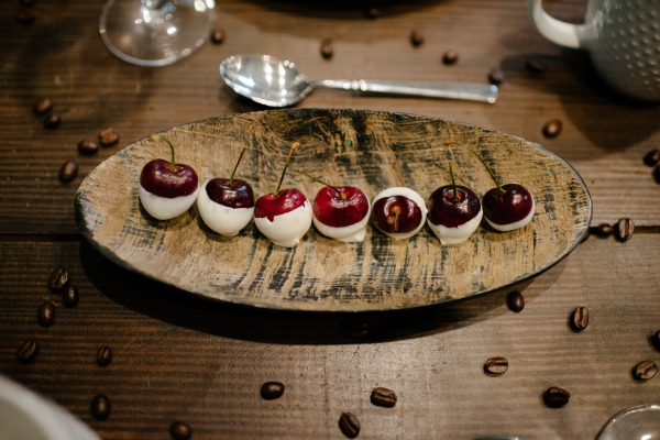 Cherries and White Chocolate