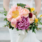 Fluffy Pink Peony Bouquet