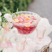 Vintage Pink Glassware