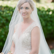 Bride with Long Veil