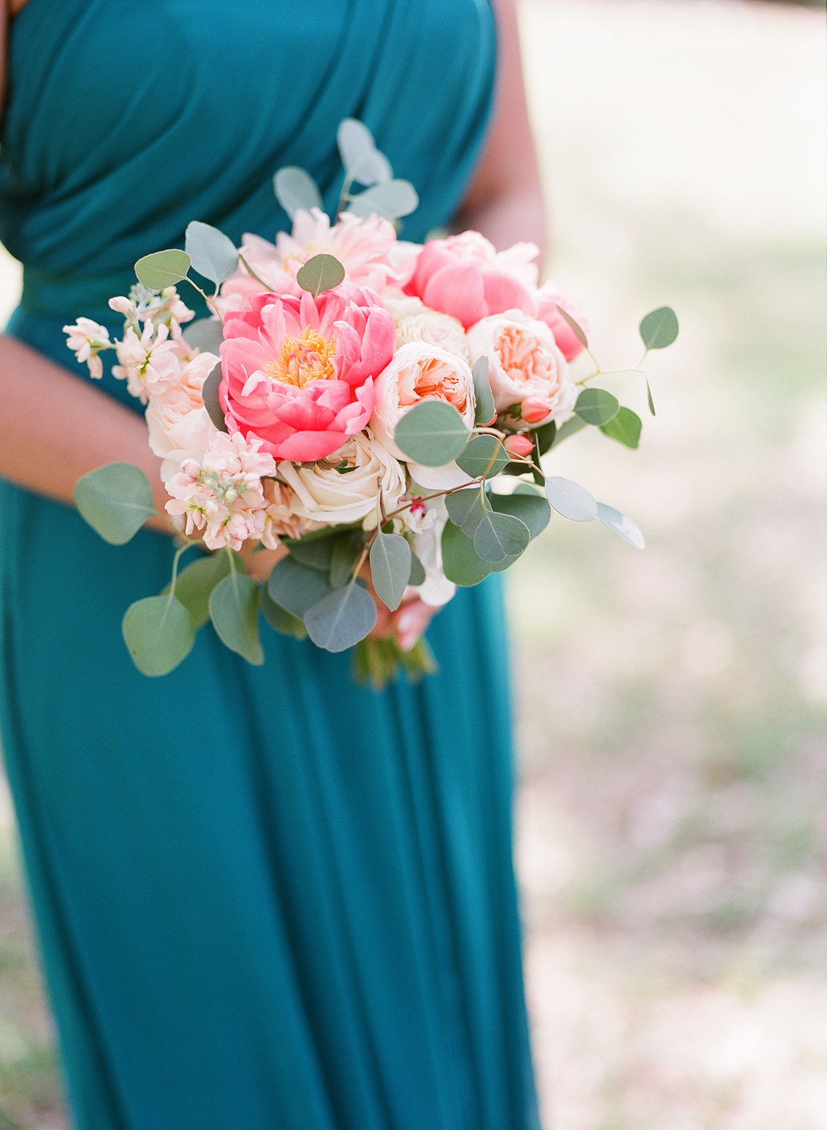 Pink Peony Bridesmaid Bouquet Elizabeth Anne Designs The Wedding Blog
