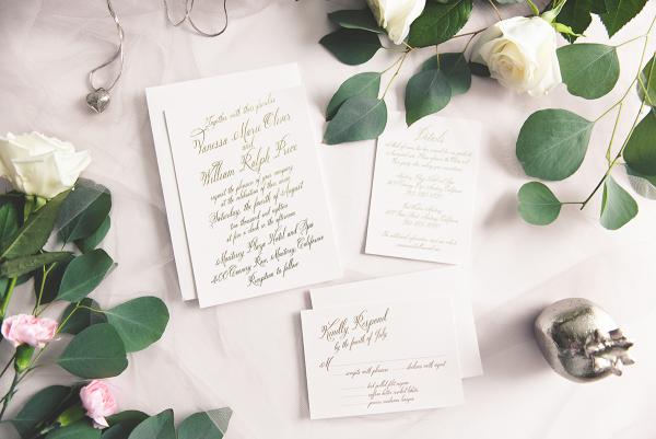 Wedding Paper Divas Bold Calligraphy 1