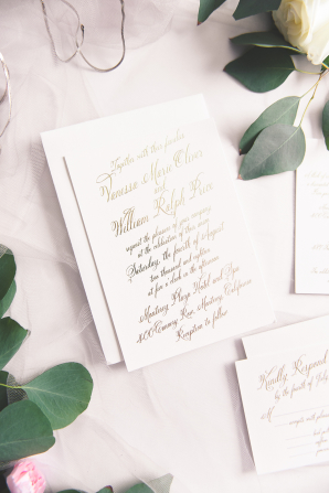 Gorgeous Invitations from Wedding Paper Divas Elizabeth Anne