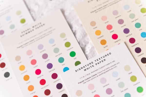 Wedding Paper Divas Sample Kits 17