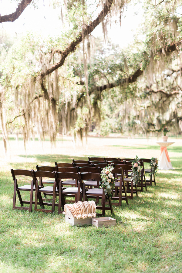 Wood Wedding Ceremony Chairs