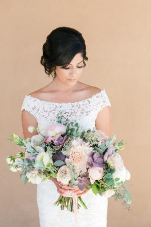 Off Shoulder Bridal Gown