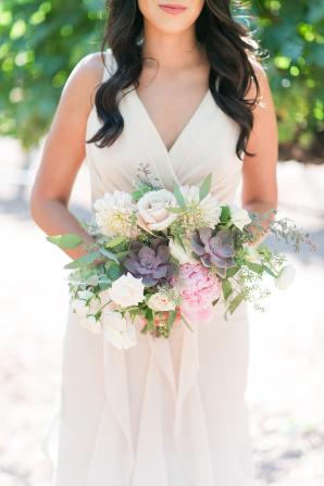 Taupe Bridesmaids Dress