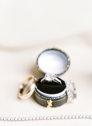 Vintage Ring Box and Bridal Accessories