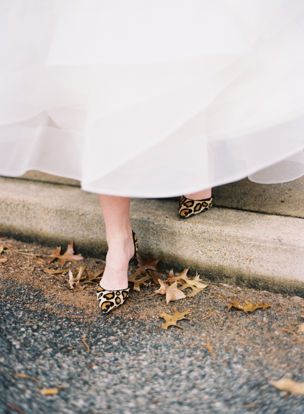 Animal Print Wedding Shoes
