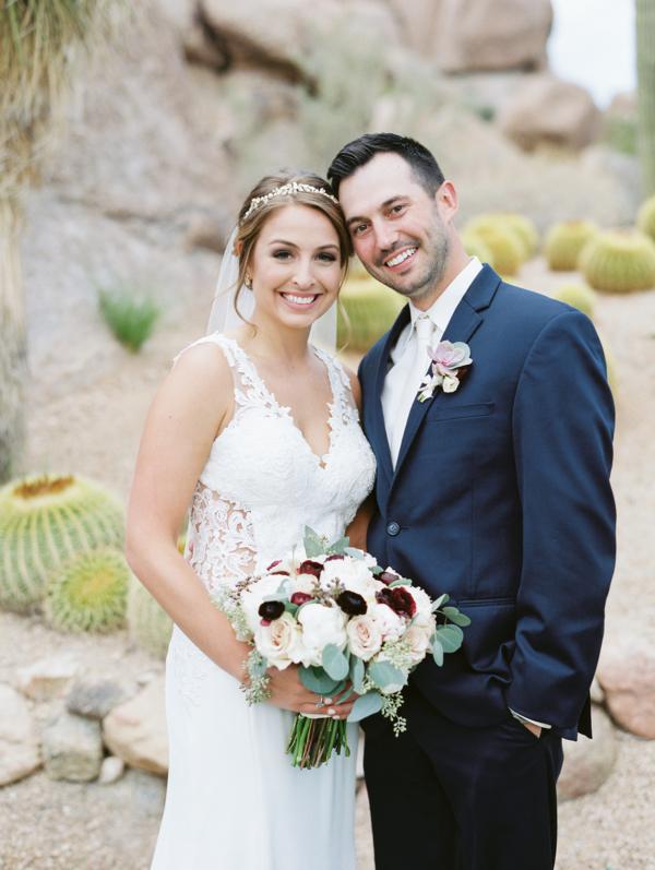 Arizona Desert Wedding The Boulders Resort 7