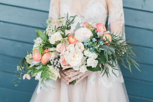 Bouquet of Pastel Flowers