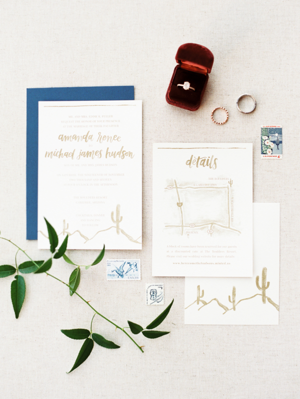 Cactus Wedding Invitations