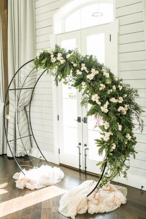 Circular Wedding Arbor