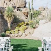 Desert Wedding Altar