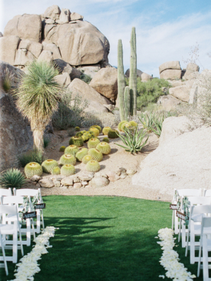 Desert Wedding Altar