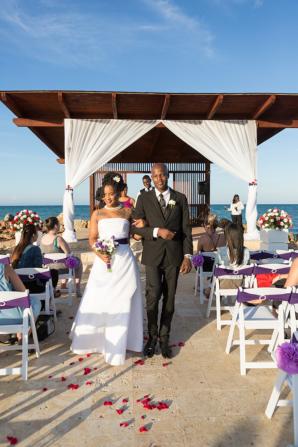 Destination Wedding at Royalton Blue Waters