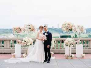 Elegant Rooftop Wedding Ceremony