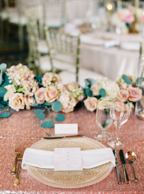Elegant Stone Chargers for Wedding