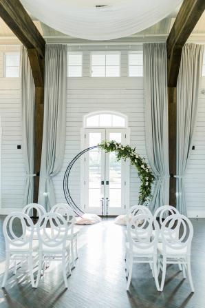 Wedding Ceremony with Circle Altar