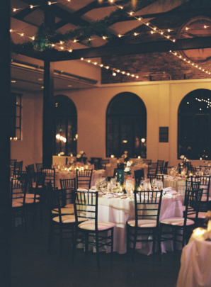 Wedding Reception with Candlelight