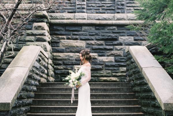 Belvedere Castle Central Park Wedding 1