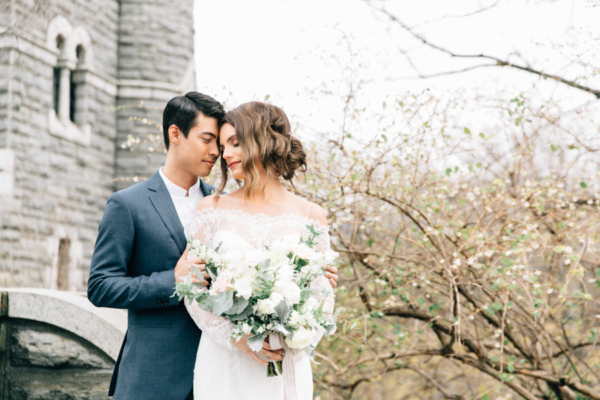 Belvedere Castle Central Park Wedding 5