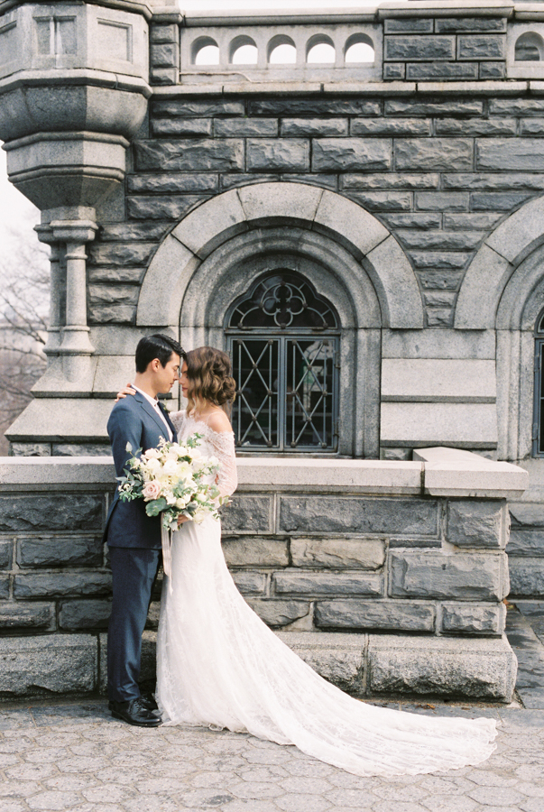Belvedere Castle Central Park Wedding 8