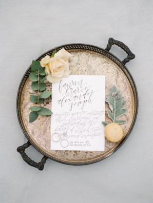 Modern Brown Calligraphy Invitations