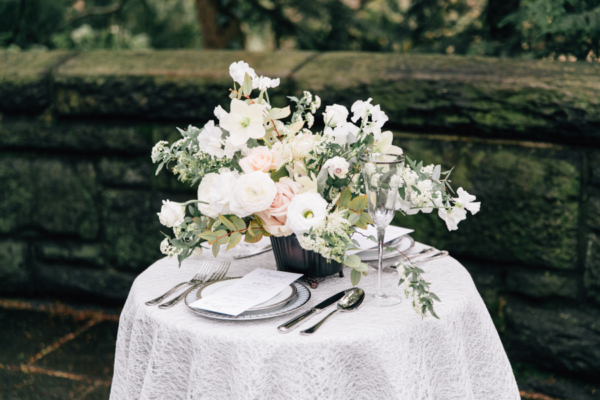 Wedding Table in All White