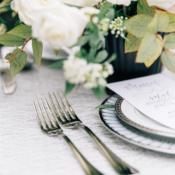 White Lace Wedding Linen