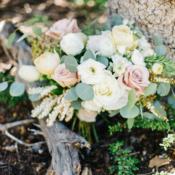 Bouquet of Pastel Roses