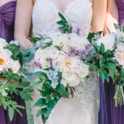 Bouquets of Dahlia and Greenery