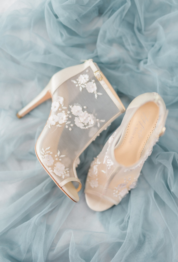 Bride Lace Booties