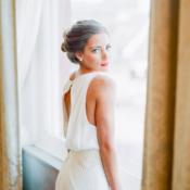 Bride in Edith Elan