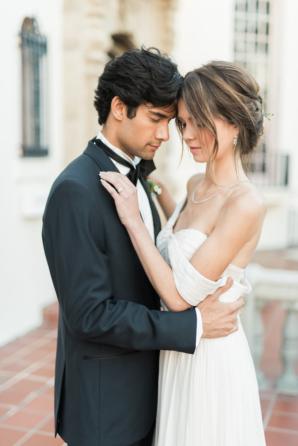 Bride in Floravere Dress