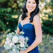 Bridesmaid in Dark Blue