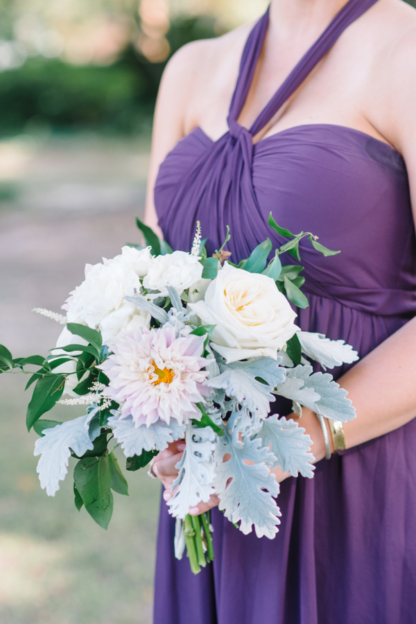 Bridesmaid in Purple