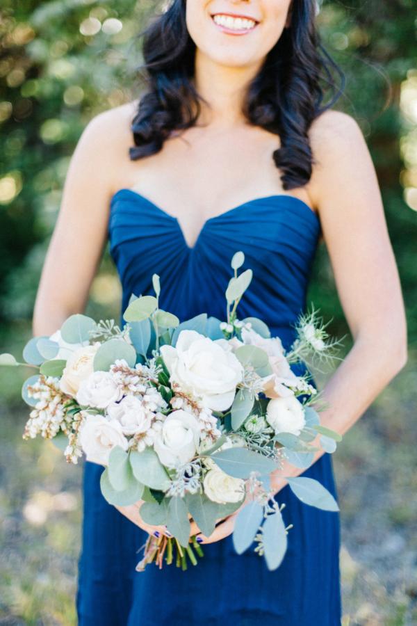 Bridesmaid in Royal Blue