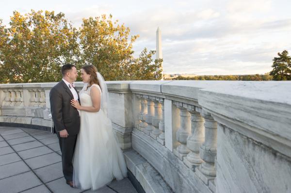 Classic DC Wedding at the DAR Headquarters 15