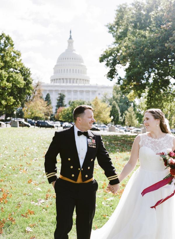 Classic DC Wedding at the DAR Headquarters 5