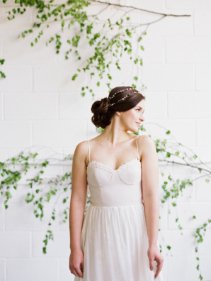 Corset Style Wedding Dress