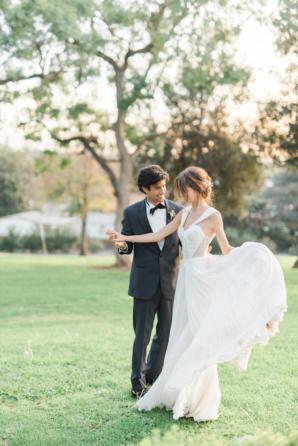 Elegant Bridal Gown by Floravere