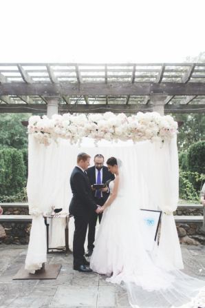 Elegant Floral Wedding Chuppah