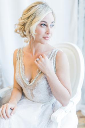 Elegant Galia Lahav Wedding Dress