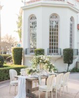 Elegant Wedding Table at Estate