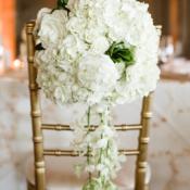 Hydrangea Rose Chair Flowers